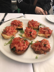 bruscetta in rome