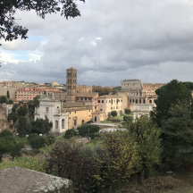 views in rome