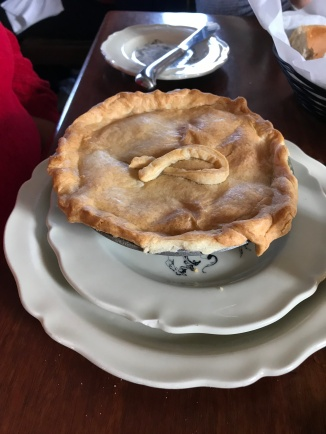 Pie at King's Arms
